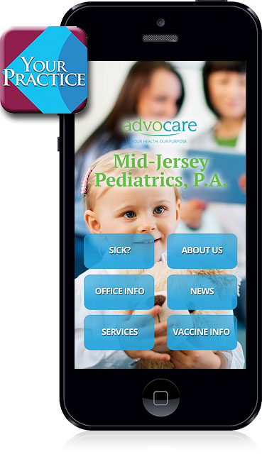 Mid-Jersey Pediatrics Mobile App